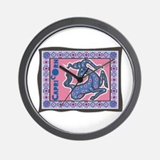 Capricorn Tapesty Design Wall Clock