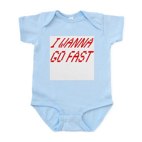 Go Fast Infant Creeper