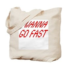 Go Fast Tote Bag