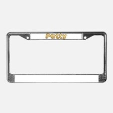 Patty Toasted License Plate Frame