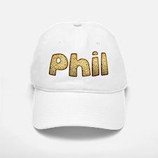 Phil Toasted Baseball Baseball Cap