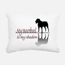 Boerboel Shadow.png Rectangular Canvas Pillow
