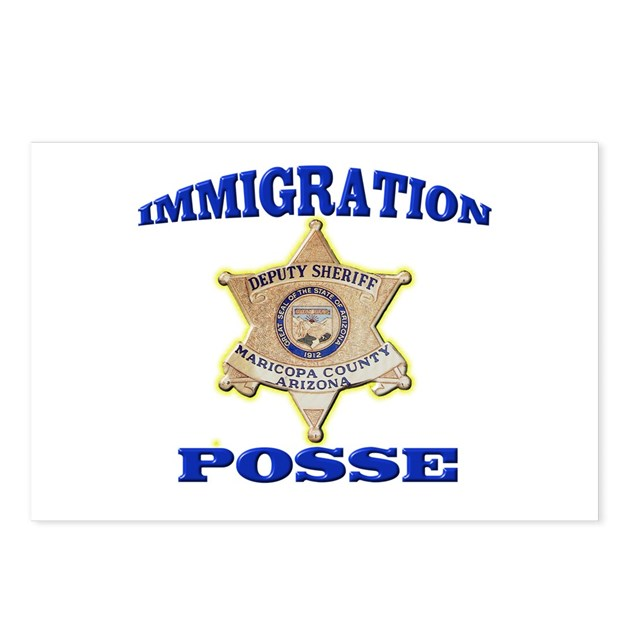 Maricopa Sheriff Immigration Posse Postcards (Pack by ...