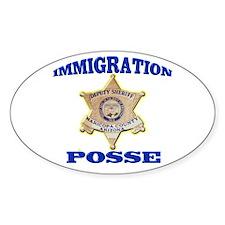 Maricopa Sheriff Immigration Posse Decal