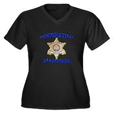 Maricopa Sheriff Immigration Posse Women's Plus Si