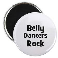 BELLY DANCERS Rock Magnet