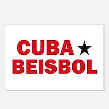 Cuba Beisbol Postcards (Package of 8)