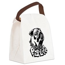 Pug Life Canvas Lunch Bag