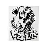Pug life Blankets