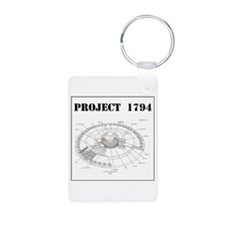 Project 1794 Flying Saucer Keychains