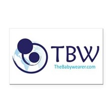 TBW-logo.png Rectangle Car Magnet