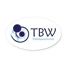 TBW-logo.png Oval Car Magnet