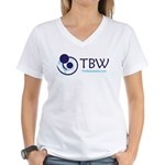TBW-logo.png Women's V-Neck T-Shirt