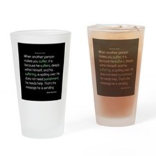 Suffering-Thich Nhat Hanh Drinking Glass