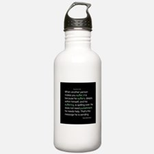 Suffering-Thich Nhat Hanh Water Bottle