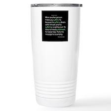 Suffering-Thich Nhat Hanh Travel Mug
