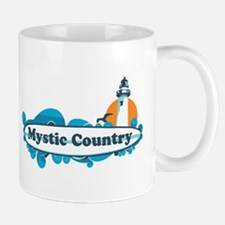 Mystic CT - Surf Design. Mug