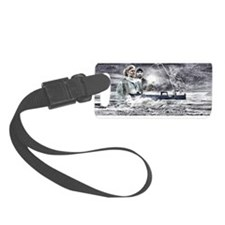 Wild Bill Cape Caution Luggage Tag