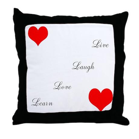 LoveandPeace Throw Pillow