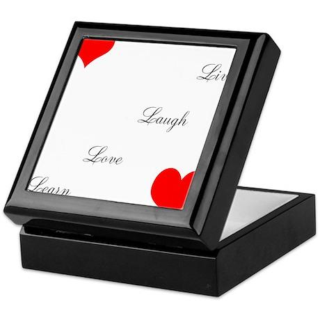 LoveandPeace Keepsake Box