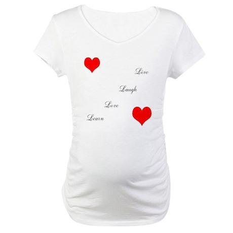 LoveandPeace Maternity T-Shirt
