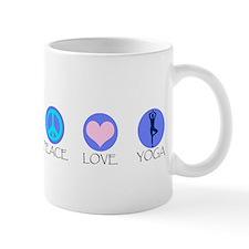 PEACE LOVE YOGA Small Mug