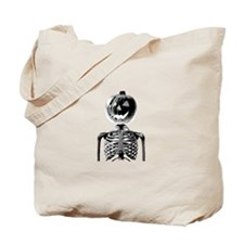 Halloween Pumpkin head Tote Bag