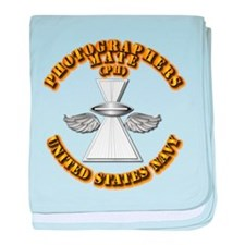 Navy - Rate - PH baby blanket