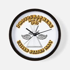 Navy - Rate - PH Wall Clock