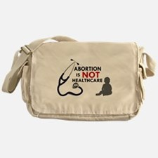 Abortion is not Healthcare Messenger Bag