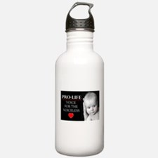 Pro-Life Voice for the Voiceless Water Bottle