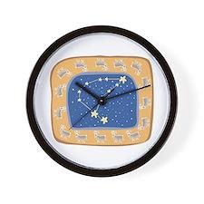 Capricorn Constellation Design Wall Clock