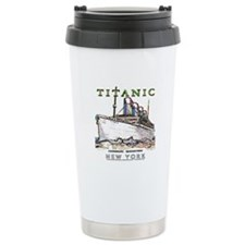 Titanic Neon (white) Travel Mug