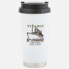 Titanic Neon (white) Travel Mug