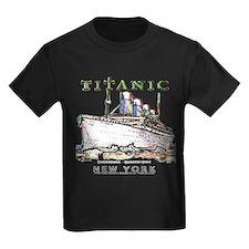 Titanic Neon (white) T