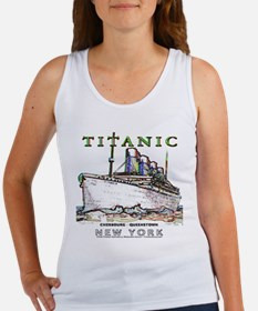 Titanic Neon (white) Women's Tank Top