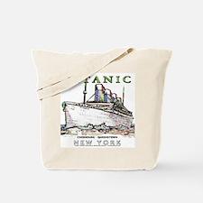 Titanic Neon (white) Tote Bag