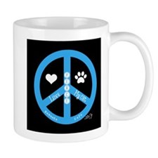 Peace, Love, My Cat Mug