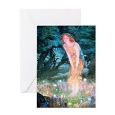 Queen of the Fairies Greeting Card