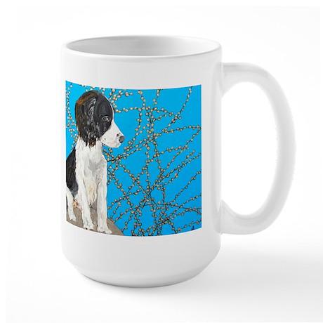 """""""Springer Spaniel"""" Large Mug"""