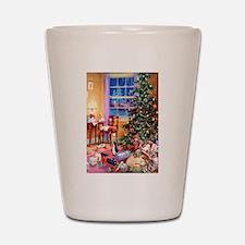 Christmas Morning Shot Glass