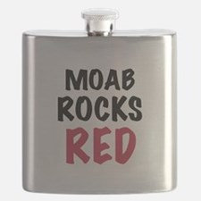 Moab rocks red Flask