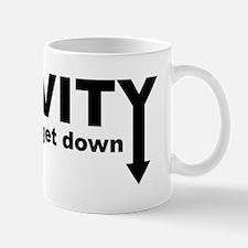 Gravity: Time To Get Down Mug
