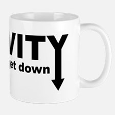 Gravity: Time To Get Down Small Small Mug
