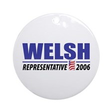 Welsh 2006 Ornament (Round)