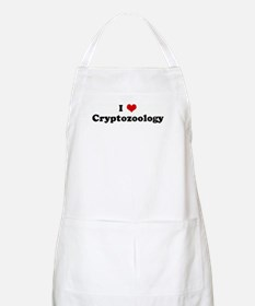 I Love Cryptozoology BBQ Apron