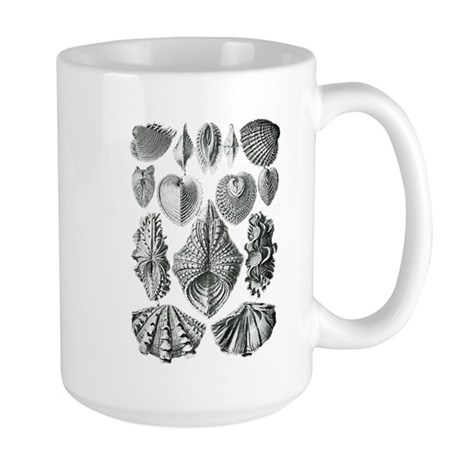 Shell Fossils Large Mug