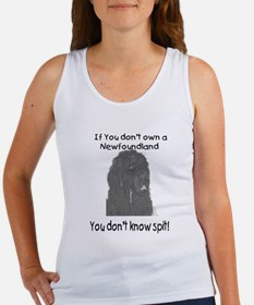 Newfoundland You Dont Know Spit Women's Tank Top