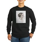 Abby Kelley Foster Long Sleeve Dark T-Shirt