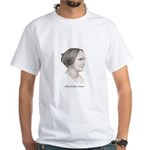 Abby Kelley Foster White T-Shirt